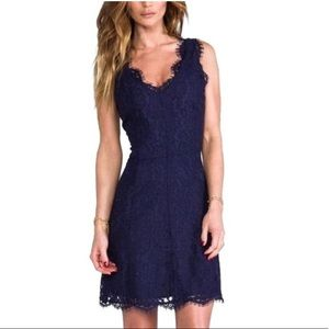 Joie Navy Lace Dress